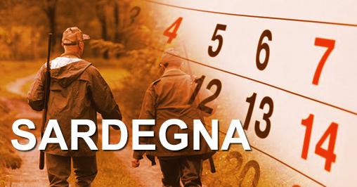 Calendario Venatorio Sardegna.Calendari Venatori Sardegna