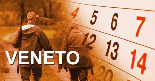 Calendario Veneto.Calendari Venatori Veneto