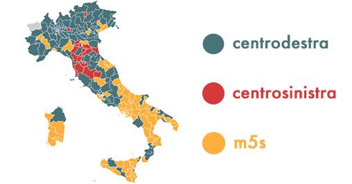 Cartina Atc Sicilia.Elezioni 2018 37 6 Al Centro Destra Lega In Testa M5s Al 31 8 Bighunter