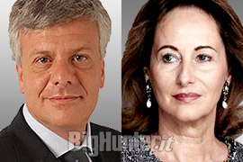 Ministro GianLuca Galletti e Ministro all'Ecologia francese Ségolene Royal
