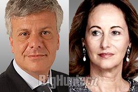 Ministro GianLuca Galletti e Ministro all'Ecologia francese Ségolene Royal