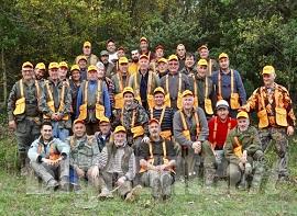 Squadra caccia cinghiale