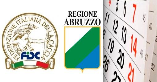 Calendario Regionale Abruzzo.Calendario Abruzzo Fidc Incontra La Regione Bighunter