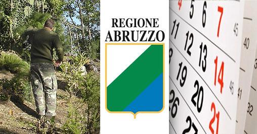 Calendario Regionale Abruzzo.Abruzzo Sospeso Calendario Venatorio 2019 2020 Bighunter
